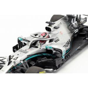 Lewis Hamilton Mercedes-AMG F1 W10 EQ #44 Formel 1 Weltmeister 2019 1:18