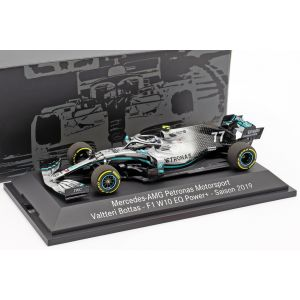 Valtteri Bottas Mercedes-AMG F1 W10 EQ Power+ #77 Formulario 1 2019 1/43