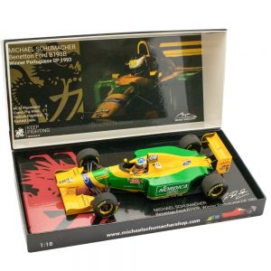 Michael Schumacher Benetton Ford B193B Vainqueur du GP du Portugal 1993 1/18