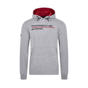 Porsche Motorsport Kapuzenpullover grau