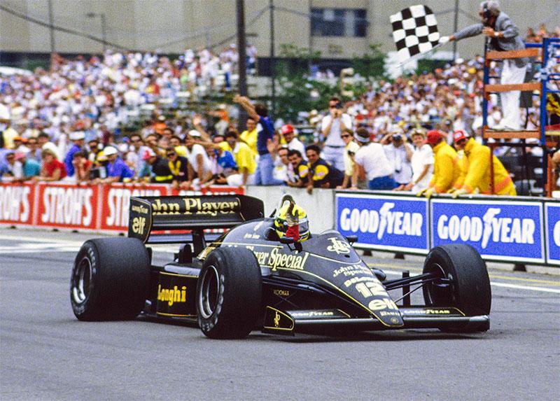 1986 Detroit Grand Prix: Senna stars in the Motor City
