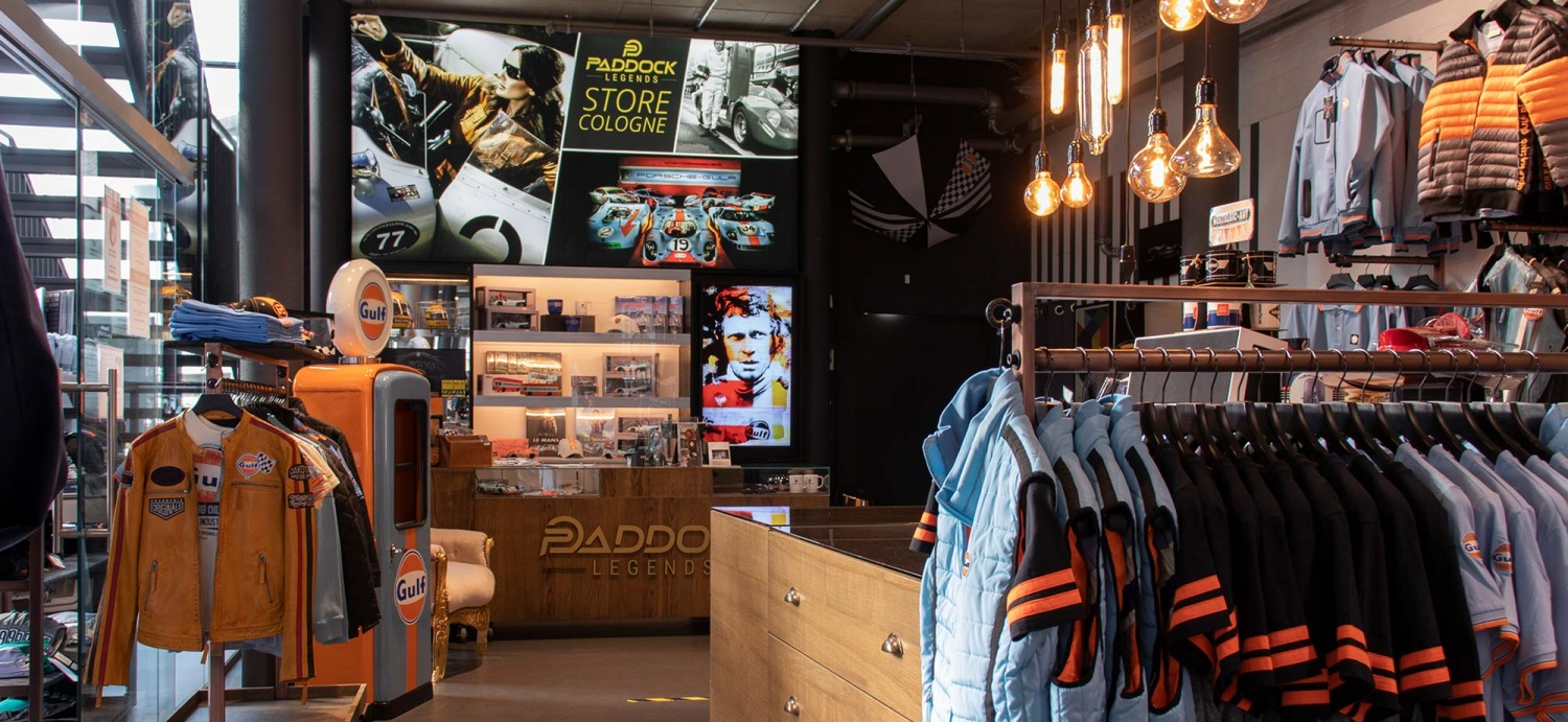 Call & Meet - Paddock Legends Store & F1Arts Atelier in Motorworld Cologne open again!