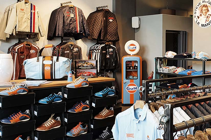 Store opening PADDOCK-LEGENDS at Motorworld München