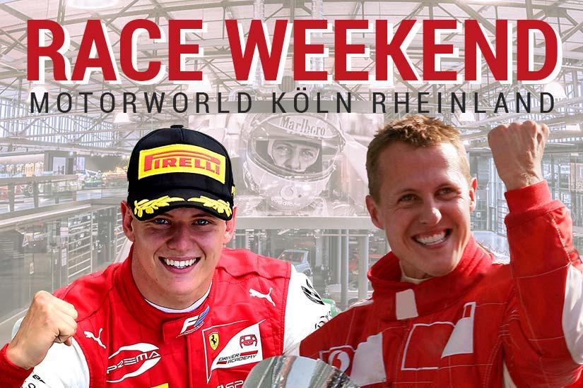 Michael & Mick Schumacher Fan Event for the SPA Anniversary: 28th & 29th August at Motorworld Köln-Rheinland