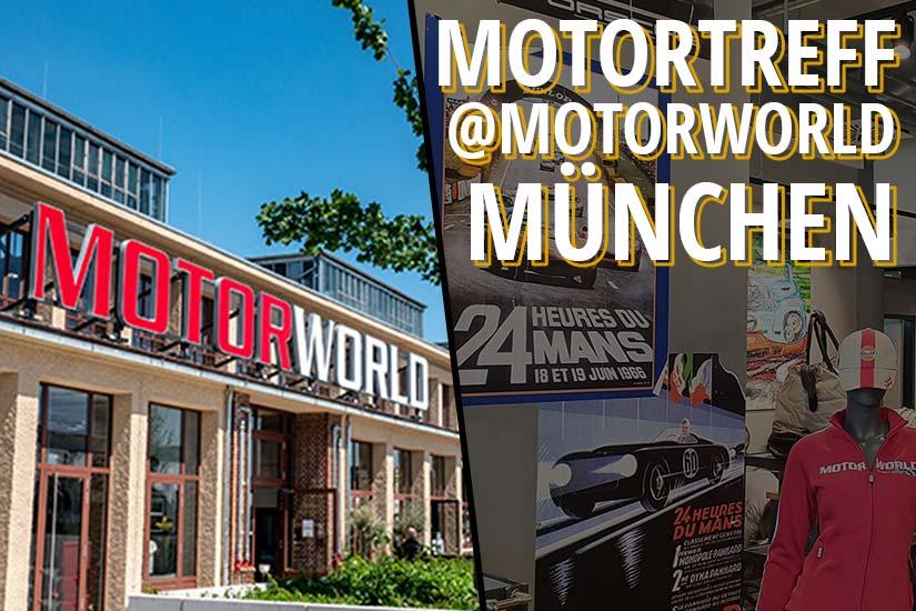 """""""Motortreff"""" event at Motorworld Munich"""