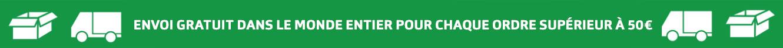 Banner Free Shipping grün