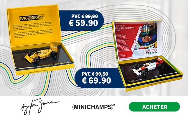 Modellautos Halb Senna Angebot