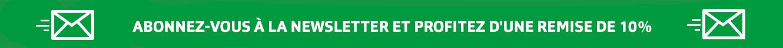 Banner Newsletter grün