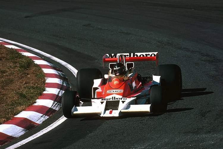 James Hunt's final Formula 1 victory