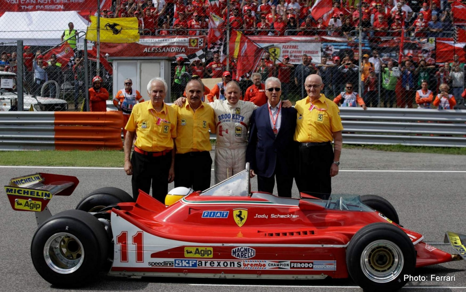 Jody Scheckter Gets Back in the Saddle with Ferrari 312 T4