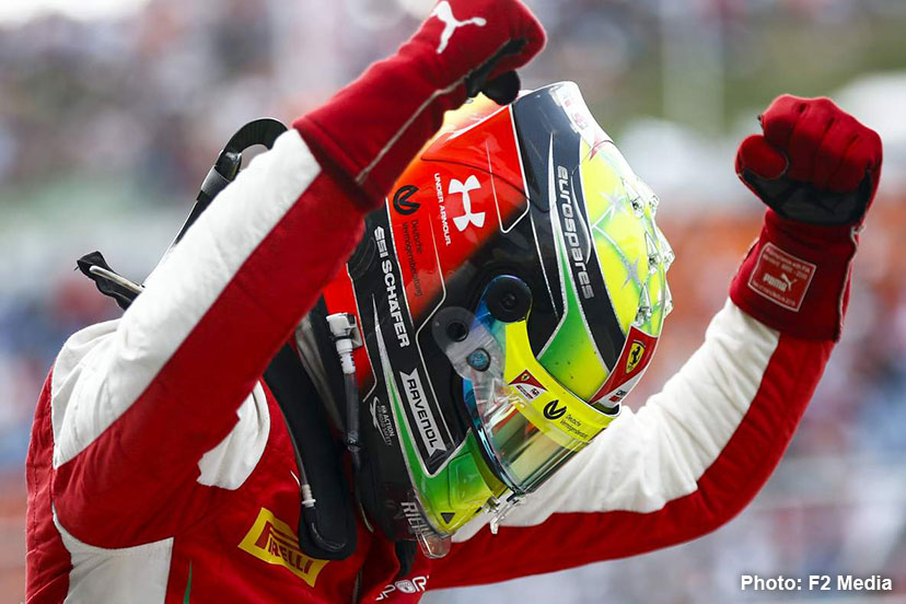 Mick Schumacher explains his 2019 helmet