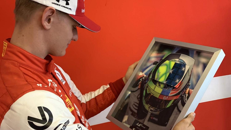 JMD immortalise Mick Schumacher's special helmet