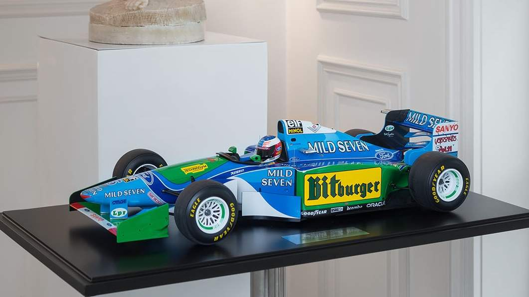 Benetton B194 took Schumi to the first of his seven F1 titles