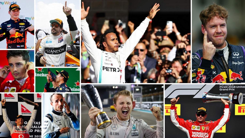 Top Ten Formula 1 Drivers of the Past Decade
