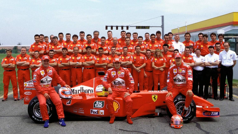 Rubens Barrichello recalls being Schumi's teammate