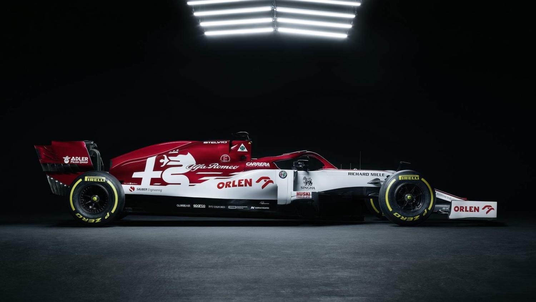 Meet Kimi Raikkonen's new Alfa Romeo