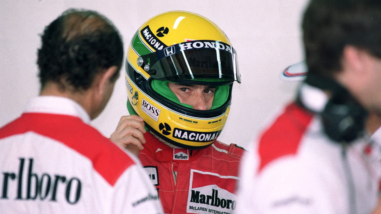 MBA-SPORT Ayrton Senna Kapuzensweatjacke Racing