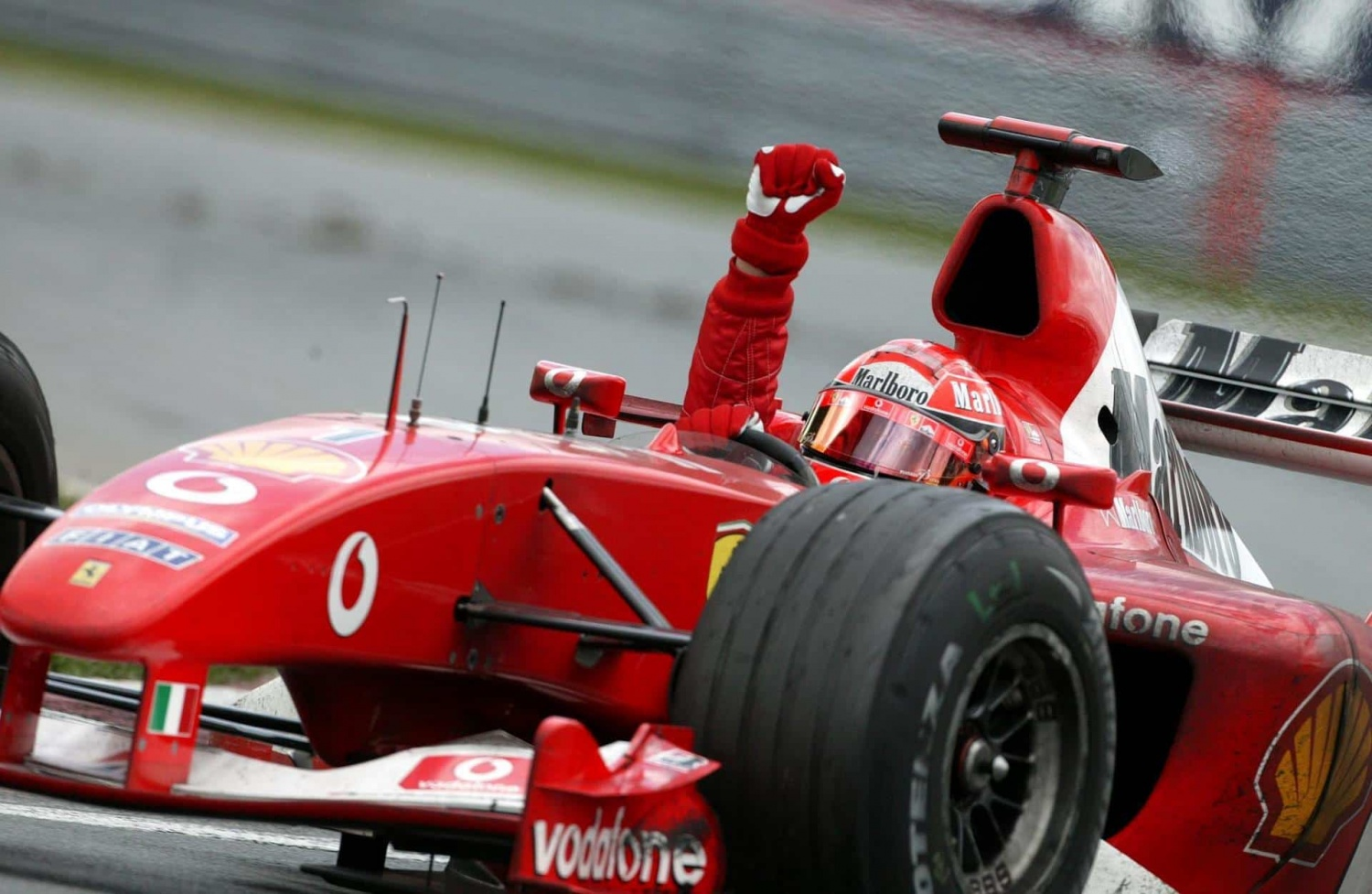 Michael Schumacher's magnificent eight in Montreal
