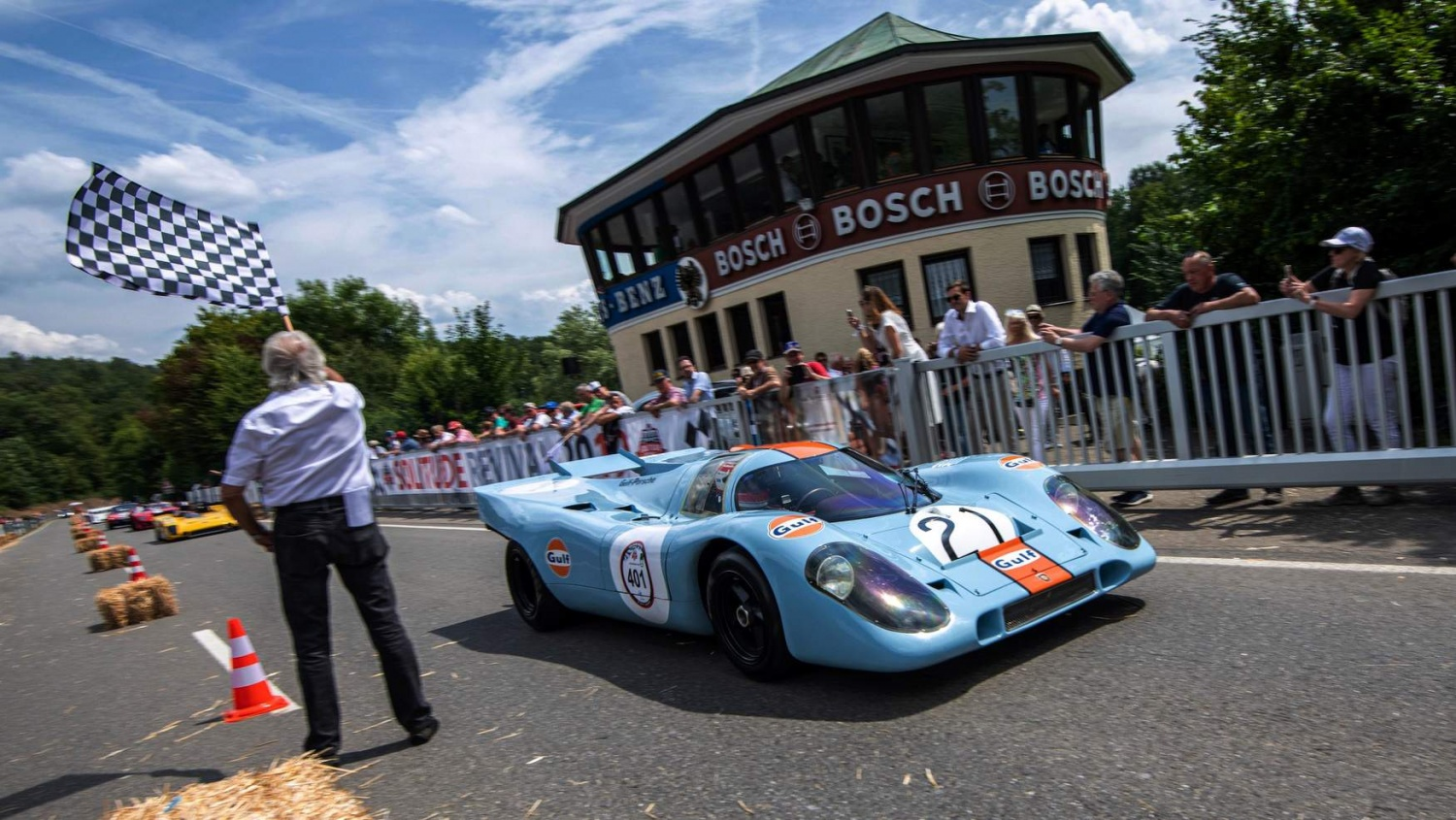 Gulf Racing and their impressive legacy in motor racing history