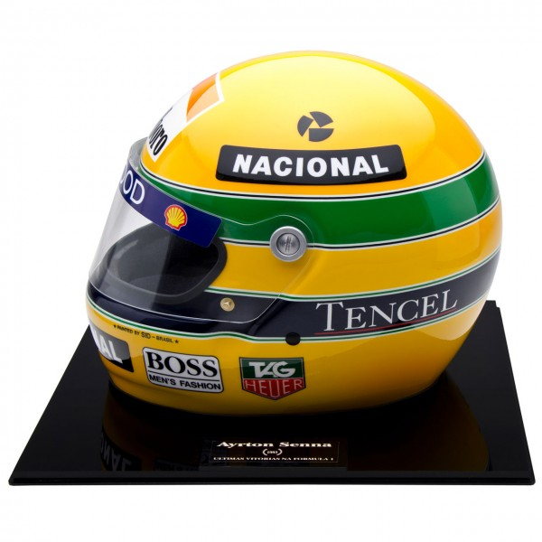 ayrton senna helm 1993 nr 557 1000 ma stab 1 1. Black Bedroom Furniture Sets. Home Design Ideas